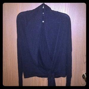 Twenty-One gray cropped cardigan